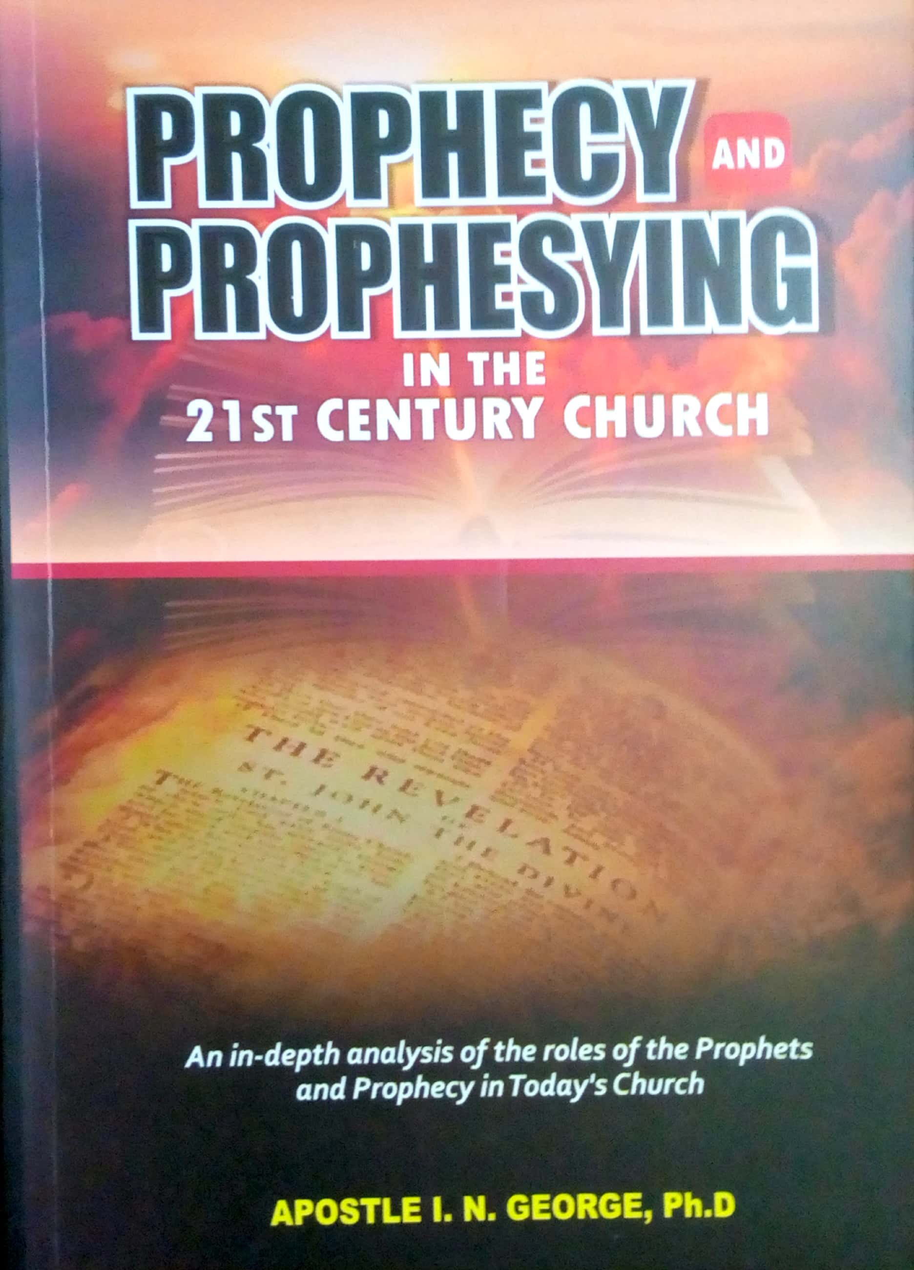 the roles of prophecies and prophets